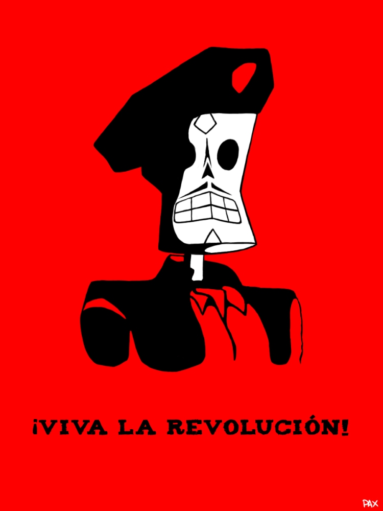 viva_la_revolucion___grim_fandango_fan_art_by_rauhapax-d82g1j2