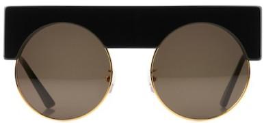 garconne-nyc-round-sunglasses-shimokitazawa-black-front